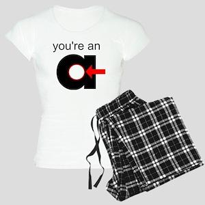 You're an A-Hole Women's Light Pajamas