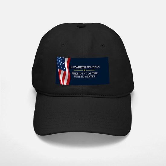 Elizabeth Warren President V3 Baseball Hat