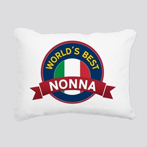 World's Best Rectangular Canvas Pillow