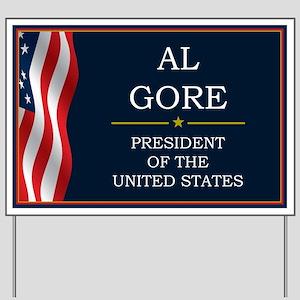 Al Gore President V3 Yard Sign
