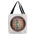 Stand For The Flag Polyester Tote Bag