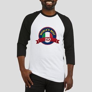 World's Best Zio Baseball Jersey