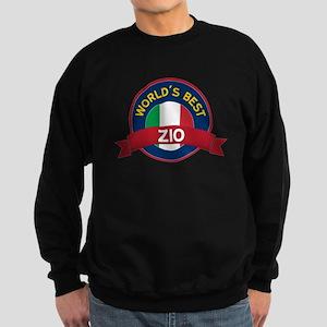 World's Best Zio Sweatshirt (dark)