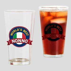 World's Best Nonno Drinking Glass