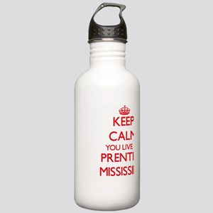 Keep calm you live in Stainless Water Bottle 1.0L
