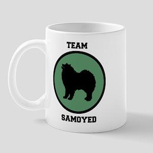 Team Samoyed (green) Mug