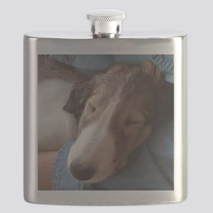 Borzoi Cuddle Flask