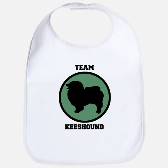 Team  Keeshound (green) Bib