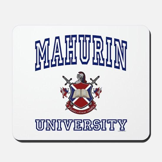 MAHURIN University Mousepad
