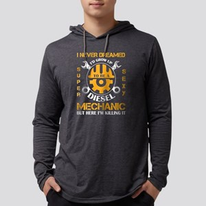 I'd Grow Up To Be A Diesel Mec Long Sleeve T-Shirt