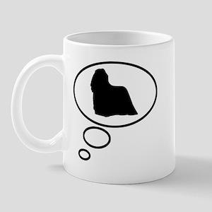 Thinking of Komondor Mug