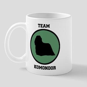 Team Komondor (green) Mug