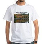 Sutton Massachusetts White T-Shirt