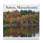 Sutton, Massachusetts Tile Coaster
