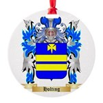 Holting Round Ornament