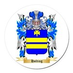 Holting Round Car Magnet