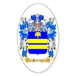 Holting Sticker (Oval 50 pk)