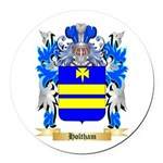 Holtham Round Car Magnet