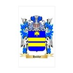 Holtby Sticker (Rectangle 10 pk)
