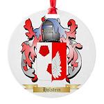 Holstein Round Ornament