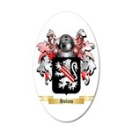 Holms 20x12 Oval Wall Decal