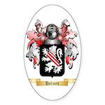 Holmes Sticker (Oval 10 pk)