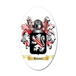 Holmes 35x21 Oval Wall Decal