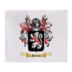 Holmes Throw Blanket