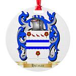 Holman Round Ornament