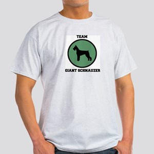 Team Giant Schnauzer (green) Light T-Shirt