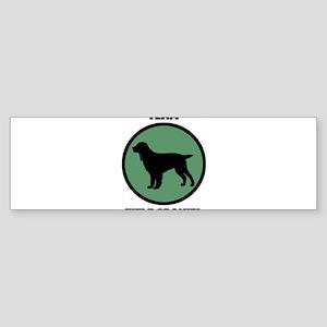 Team Field Spaniel (green) Bumper Sticker