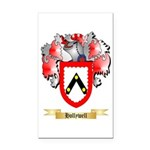 Hollywell Rectangle Car Magnet
