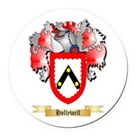 Hollywell Round Car Magnet