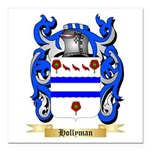 Hollyman Square Car Magnet 3