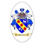 Hollyer Sticker (Oval 50 pk)