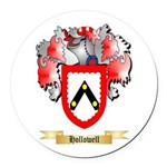 Hollowell Round Car Magnet
