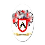 Hollowell 35x21 Oval Wall Decal