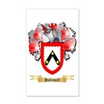 Hollowell 20x12 Wall Decal