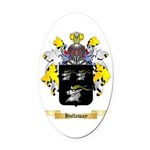 Holloway Oval Car Magnet