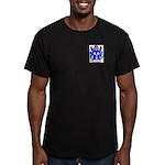 Hollow Men's Fitted T-Shirt (dark)