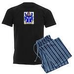 Hollow Men's Dark Pajamas