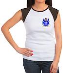 Hollow Women's Cap Sleeve T-Shirt