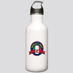 World's Best Zia Stainless Water Bottle 1.0L