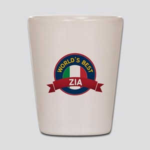 World's Best Zia Shot Glass