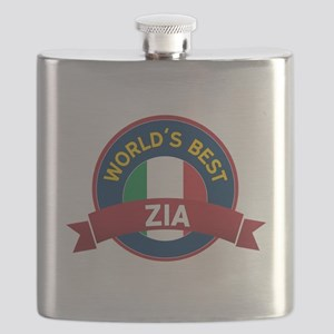 World's Best Zia Flask