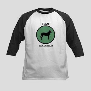 Team Beauceron (green) Kids Baseball Jersey