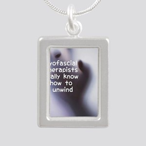 Myofascial Therapists Re Silver Portrait Necklace