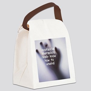 Myofascial Therapists Really Know Canvas Lunch Bag