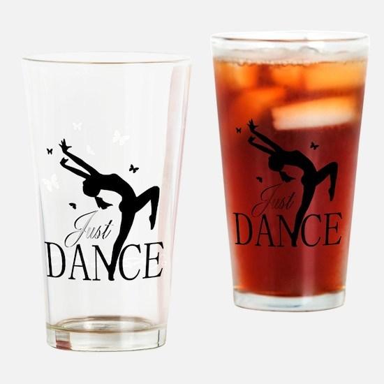 Cute Dance Drinking Glass