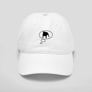 Thinking of English Bulldog Cap